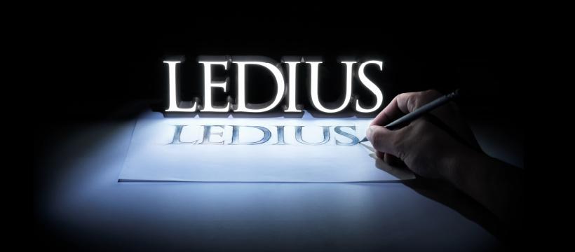 LEDIUSのFacebookのヘッダー