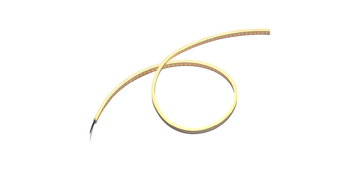 フレキシブルLEDバー ドットレスタイプ 電球色の写真
