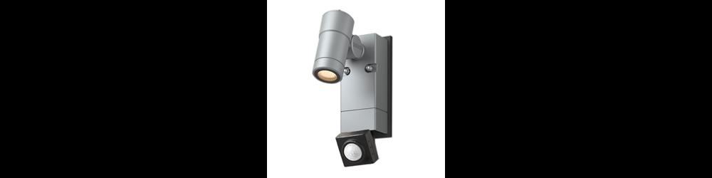 ウォールスポットライトオプティS 人感センサー付のイメージ写真