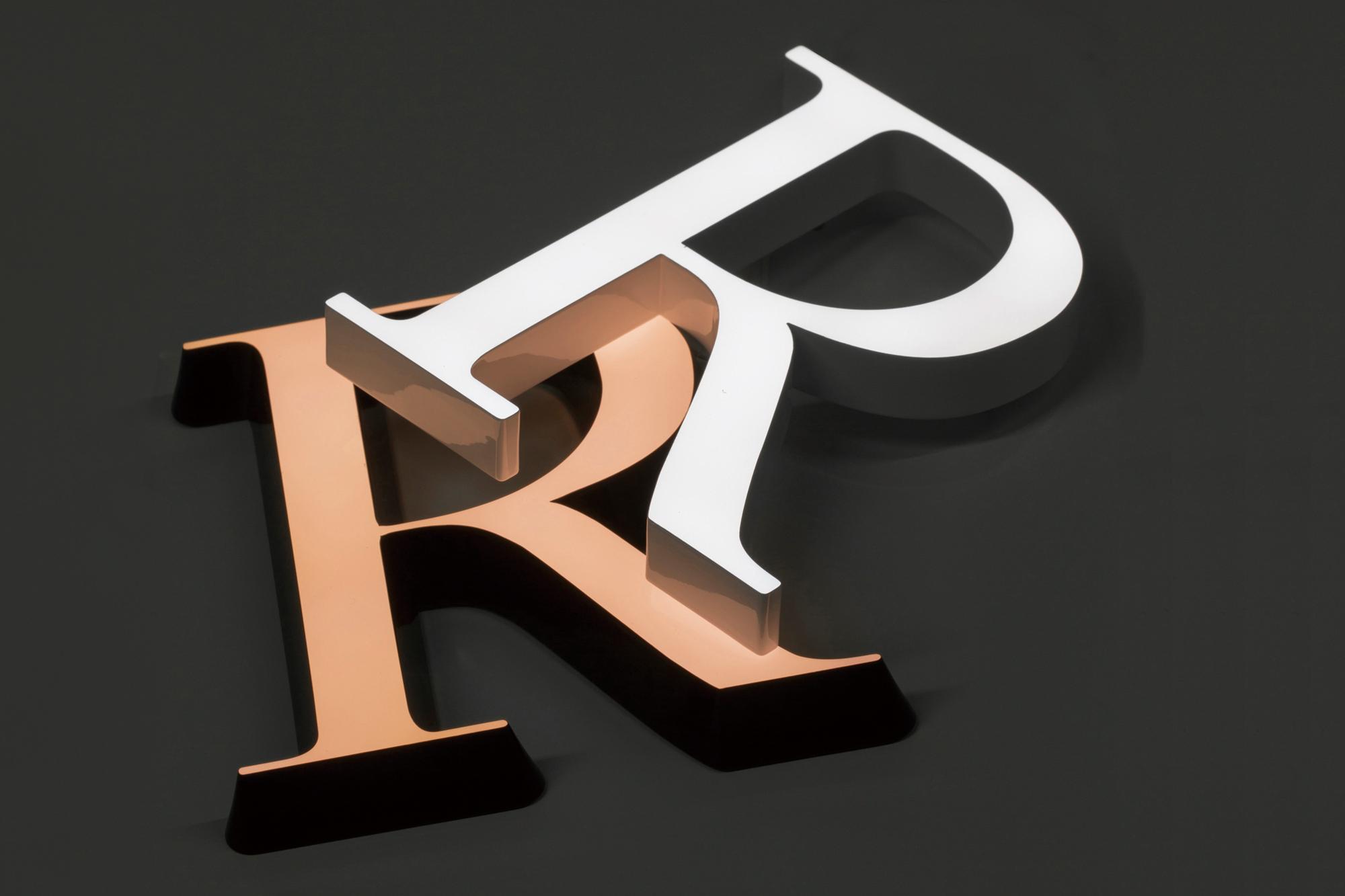 美しいLEDサインのイメージ画像