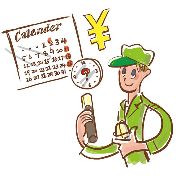 電気施工の委託いらずで時間とコスト削減ができることを表している図
