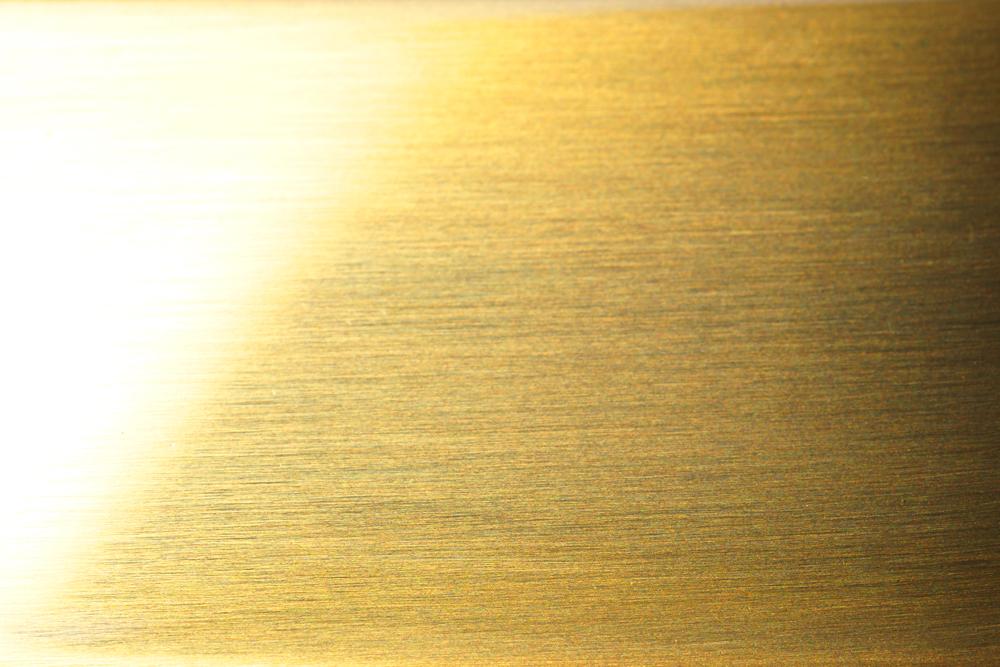 金メッキのイメージ