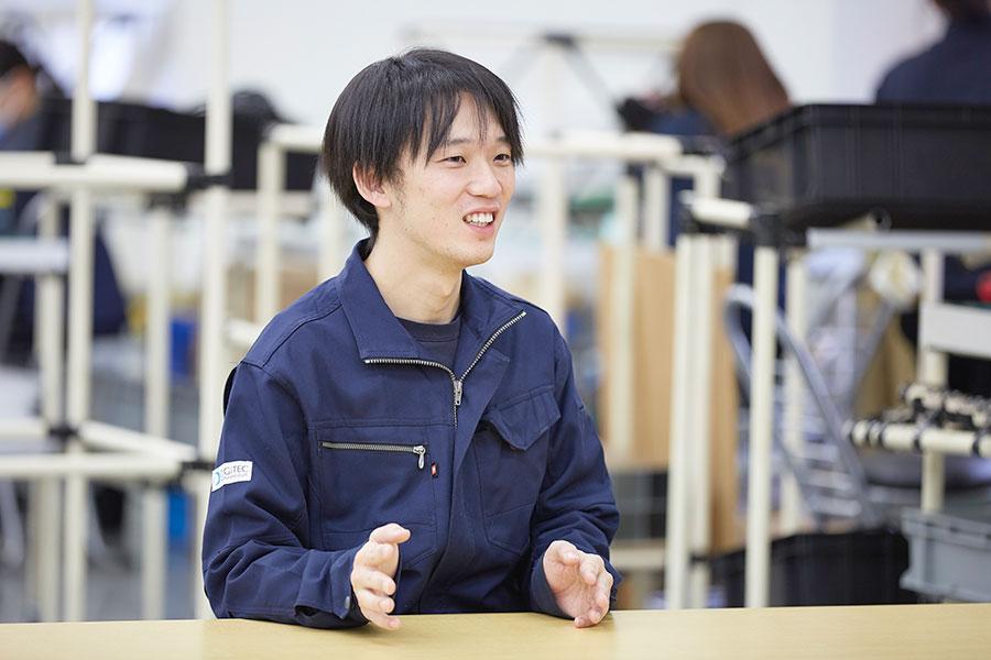 LEDIUS Lighting Division / Manufacturing Division / Head Office Factory Seiya Tamura