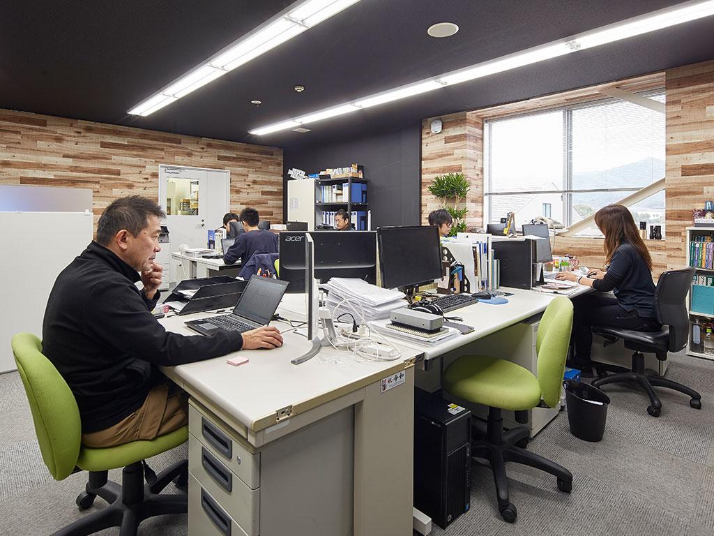 Design and Development Division & QC Division & Construction Management Team