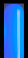 ブルーのネオンサイン、ネオン看板の発光色のイメージ画像