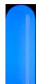 アイスブルーのネオンサイン、ネオン看板の発光色のイメージ画像