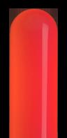 レッドのネオンサイン、ネオン看板の発光色のイメージ画像