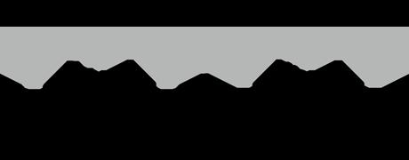 前面・背面光源のネオンサイン、ネオン看板の発光イメージ画像