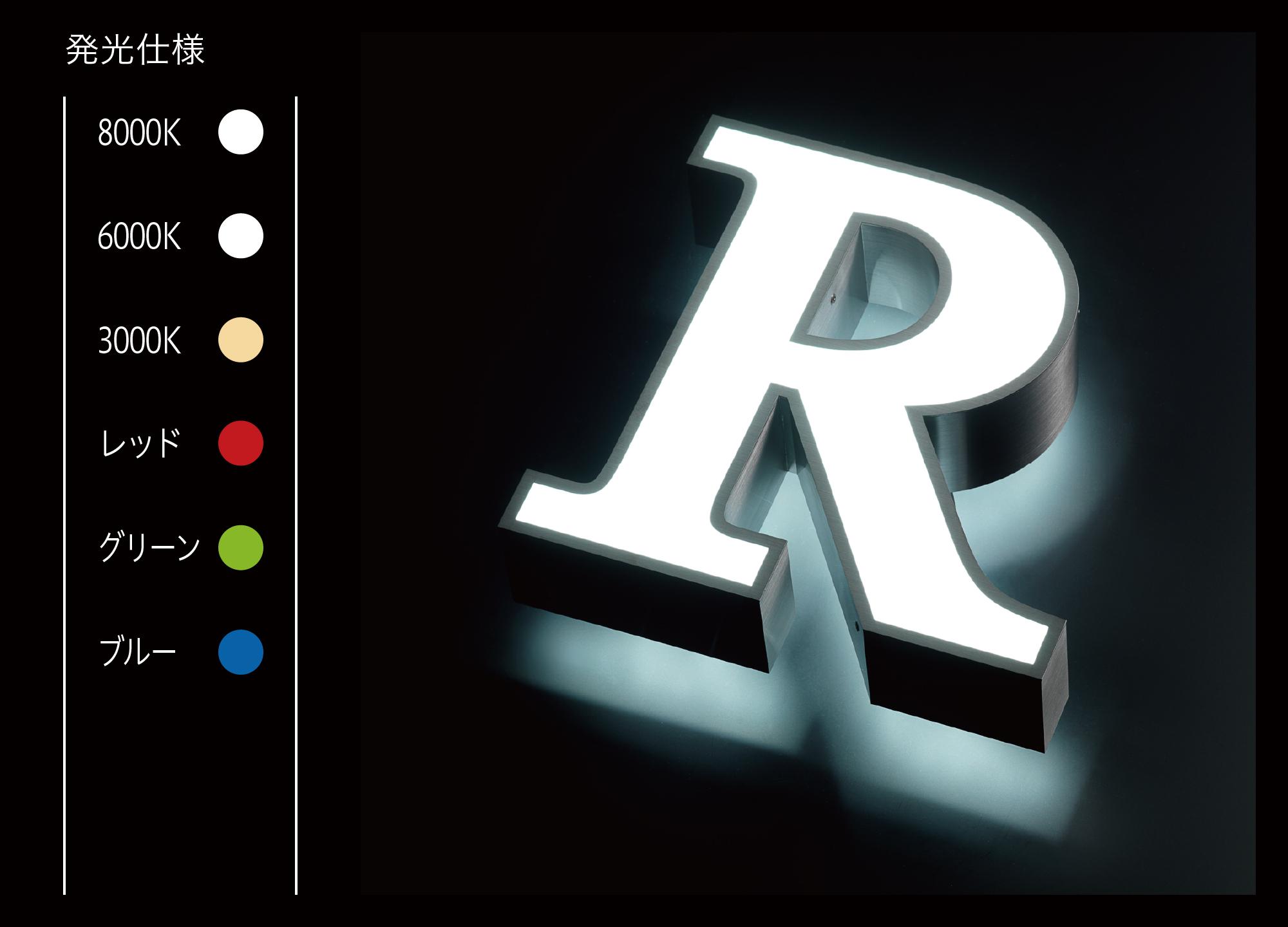 LEDサイン、LED看板のLEDIUS SIGN PRO FRONT BACK CHANNEL