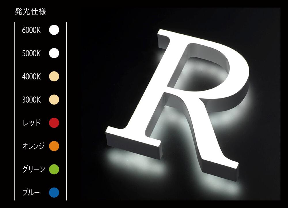 LEDサイン、LED看板のLEDIUS SIGN PRO FRONT BACK