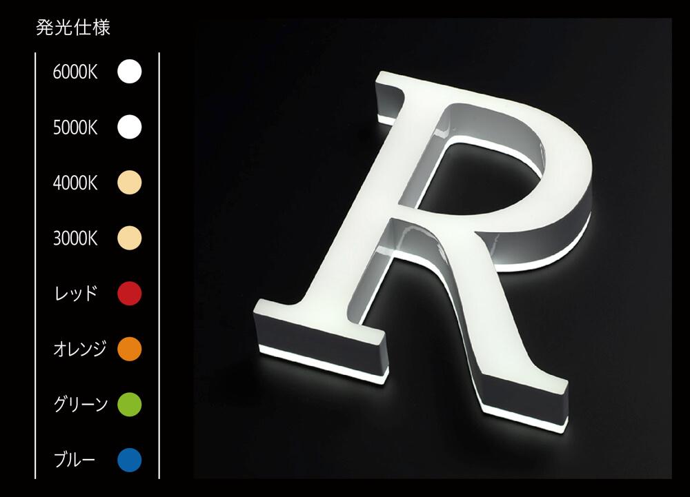 LEDサイン、LED看板のLEDIUS SIGN PRO FRONT/SIDE EDGE
