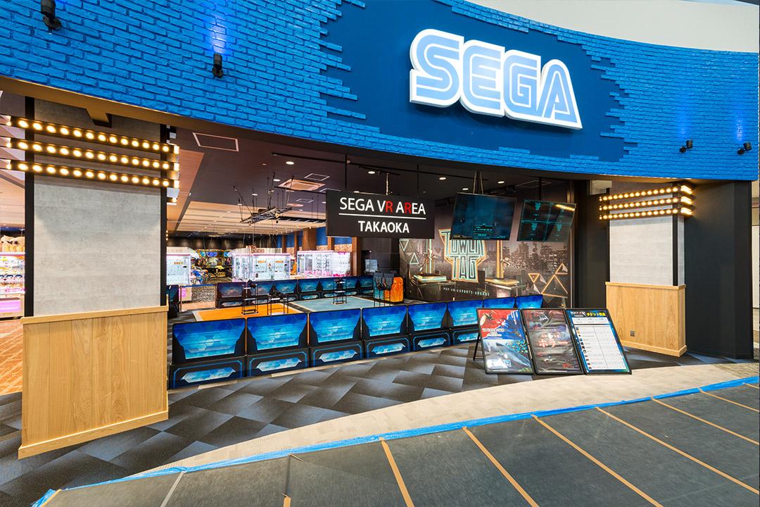 SEGA イオンモール高岡店の実績写真