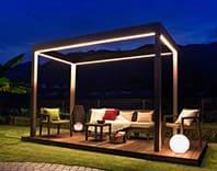 A Garden Up Light on LEDIUS