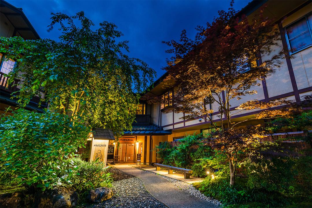 和歌山〝市堀川〟のライティング