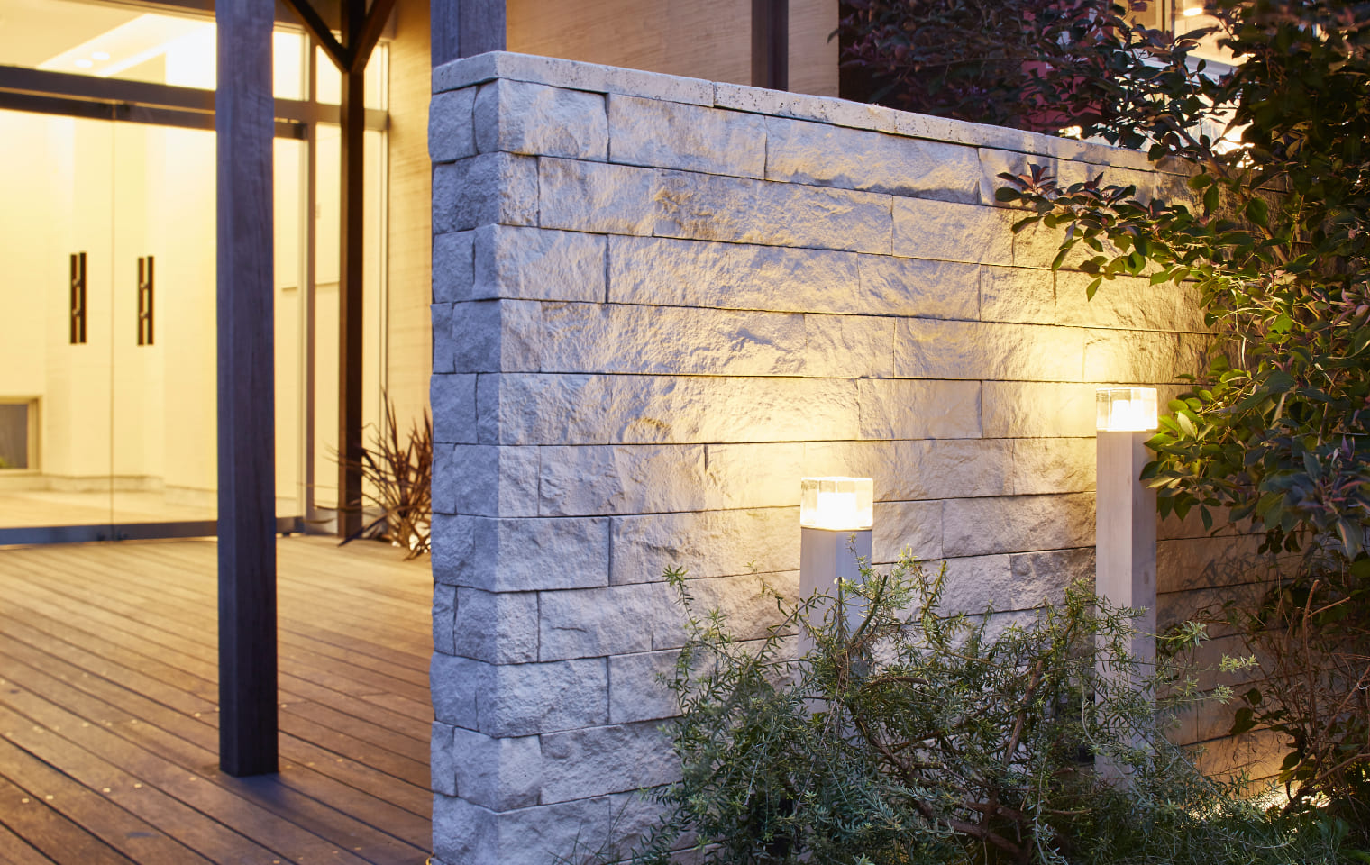 エバーアートポールライト 拡散光/ガラスブロックタイプ