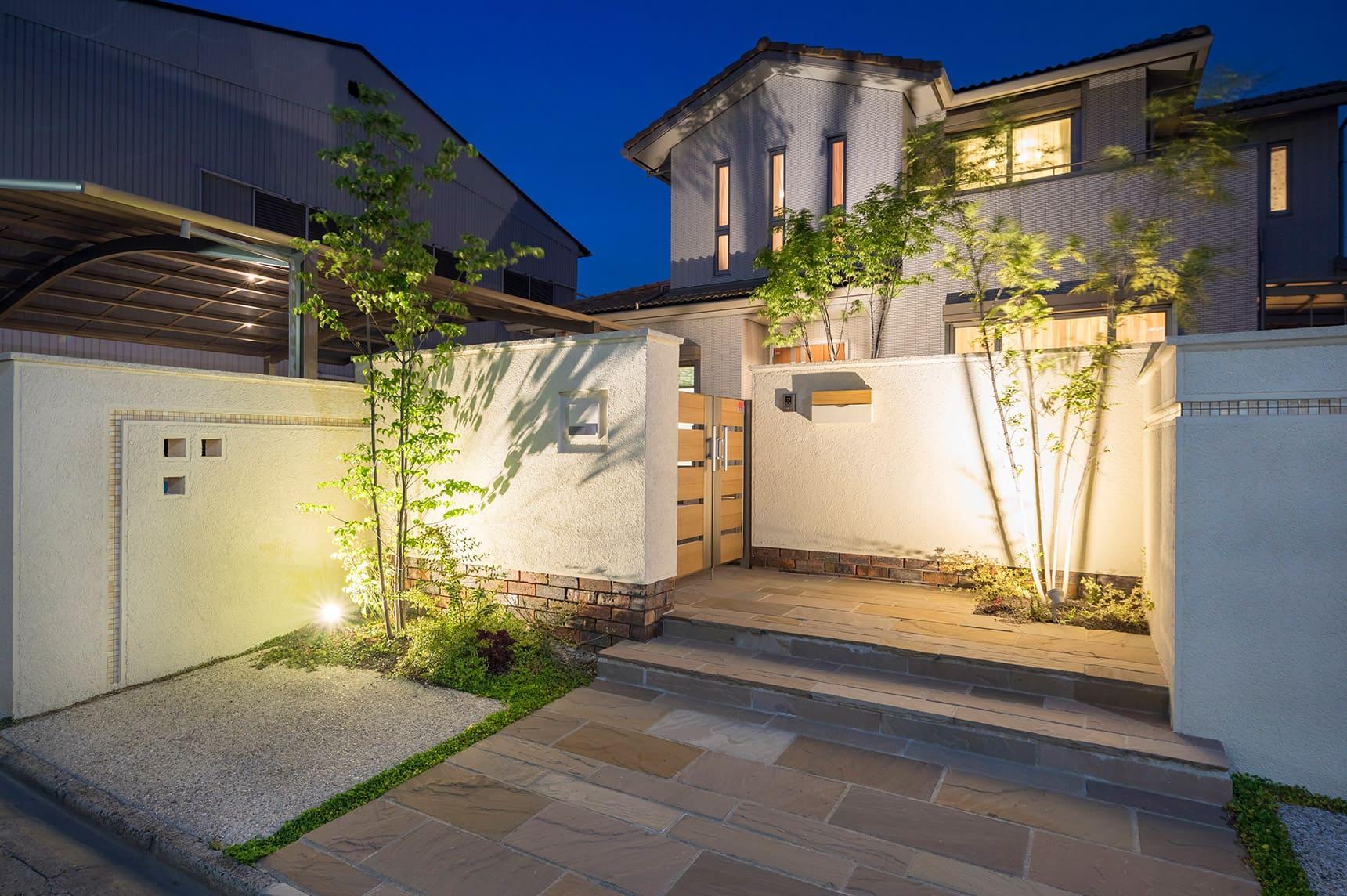 ガーデンアップライト7