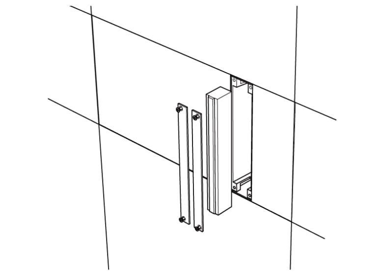 190タイプ:ブロックの高さと同寸法