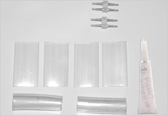 ロープライト用 延長コネクターセット(2セット入)