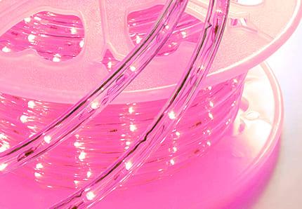 発光色 ピンク