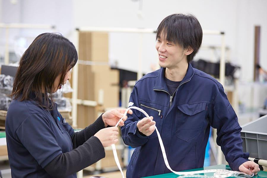 LEDIUS ライティング事業部/ 製造部門/ 本社工場 田村 誠也