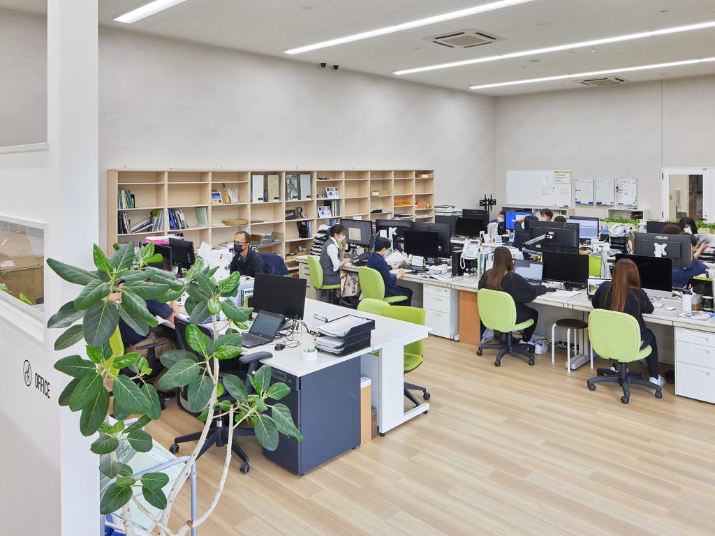 設計開発部門・品質管理部門・施工管理チーム