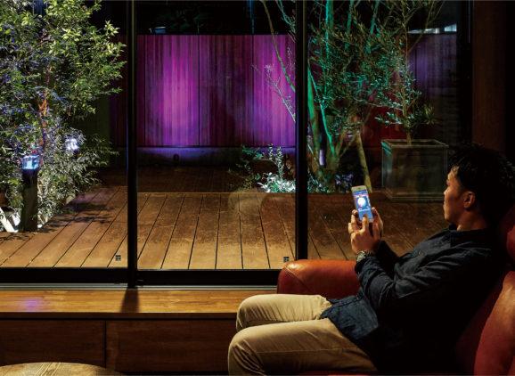 LEDIUS屋外照明ローボルト®システムをIoT化。 また、ミサワホーム総合研究所とエクステリアアイテムの共同開発を発表。