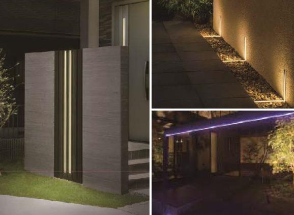 ガーデン&エクステリアライティングLEDIUS ライティングフェイスシリーズに新機種を追加