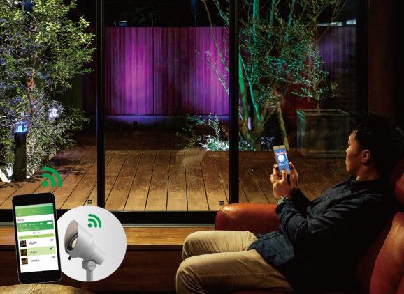 庭のIoTシステム『GEMS®』を拡張 光を自由にコントロールできるライティングと 気象情報と連動するウォータールーバーを2月1日より発売開始